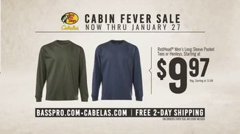 Bass Pro Shops Cabin Fever Sale TV Spot, 'Long Sleve Tees and Hunting Clothing' - Thumbnail 5
