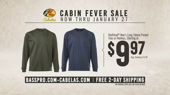 Bass Pro Shops Cabin Fever Sale TV Spot, 'Long Sleve Tees and Hunting Clothing' - Thumbnail 6