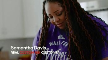 CustomInk TV Spot, 'Samantha Testimonial' - Thumbnail 1