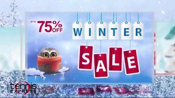 Tennis Express Winter Clearance Sale TV Spot, 'Shoes, Rackets and Apparel'
