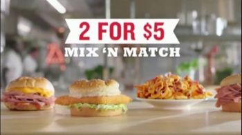 Arby's 2 for $5 Mix 'n Match TV Spot, 'Limited' Featuring H. Jon Benjamin, Song by YOGI - Thumbnail 5