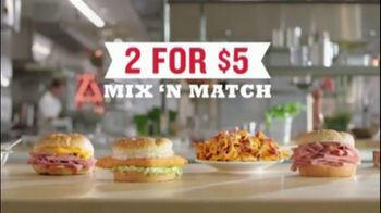 Arby's 2 for $5 Mix 'n Match TV Spot, 'Limited' Featuring H. Jon Benjamin, Song by YOGI - Thumbnail 7