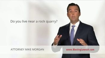 Morgan and Morgan Law Firm TV Spot, 'Quarry Blasting Can Severely Damage A Home's Foundation' - Thumbnail 1