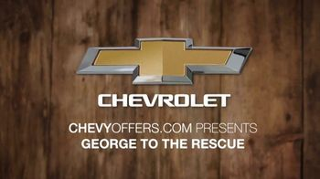 Chevrolet TV Spot, 'NBC 4: George to the Rescue: Support' [T2] - Thumbnail 1