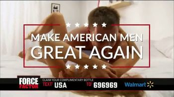 Force Factor Test X180 Ignite TV Spot, 'Make American Men Great Again' - Thumbnail 5