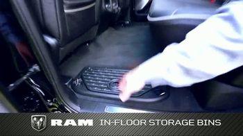 2019 Ram 1500 TV Spot, 'Storage and Leg Room' [T2] - Thumbnail 5