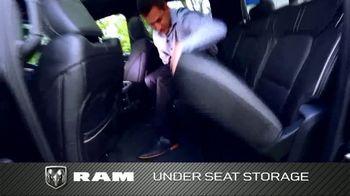 2019 Ram 1500 TV Spot, 'Storage and Leg Room' [T2] - Thumbnail 6