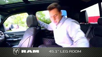 2019 Ram 1500 TV Spot, 'Storage and Leg Room' [T2] - Thumbnail 7