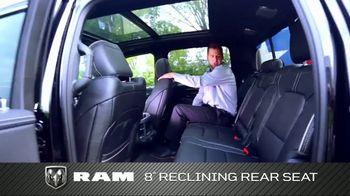 2019 Ram 1500 TV Spot, 'Storage and Leg Room' [T2] - Thumbnail 8