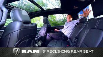 2019 Ram 1500 TV Spot, 'Storage and Leg Room' [T2] - Thumbnail 9