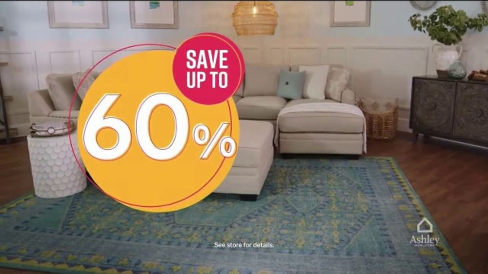 Ashley Homestore Sale Clearance Event Tv Commercial Sectional