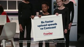 Frontier Communications FiOS Internet TV Spot, 'Smart House: Eight Times Faster' - Thumbnail 9