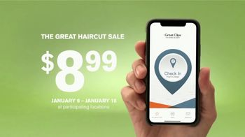 Great Clips The Great Haircut Sale TV Spot, \'Lowest Price of the Season\'