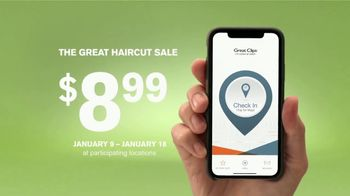 Great Clips The Great Haircut Sale TV Spot, 'Lowest Price of the Season' - Thumbnail 6