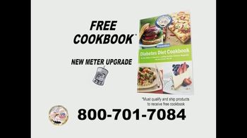 24/7 Diabetic Health Hotline TV Spot, 'Testing Supplies and Cookbook' - Thumbnail 7