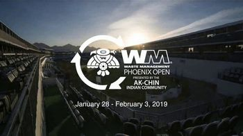 Waste Management Phoenix Open TV Spot, 'Unlike any Other'