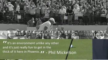 Waste Management Phoenix Open TV Spot, 'Unlike any Other' - Thumbnail 2