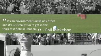 Waste Management Phoenix Open TV Spot, 'Unlike any Other' - Thumbnail 3