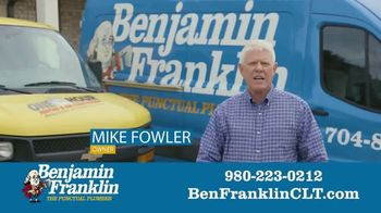 Benjamin Franklin Plumbing TV Spot, 'Two Companies With One Mission' - Thumbnail 3