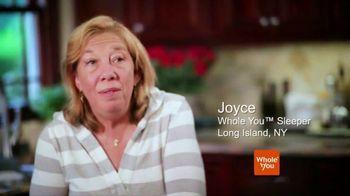 Whole You TV Spot, 'Sleepers: Joyce' - Thumbnail 1
