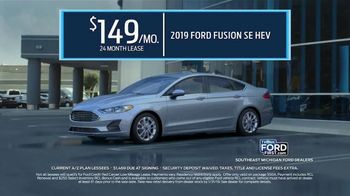 2019 Ford Fusion Hybrid TV Spot, 'Start the New Year Off in Style' [T2] - Thumbnail 7