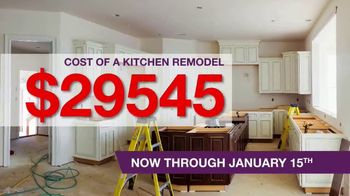 Cabinets To Go TV Spot, 'New Year New Kitchen' - Thumbnail 1
