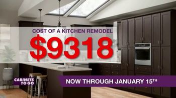 Cabinets To Go TV Spot, 'New Year New Kitchen' - Thumbnail 2