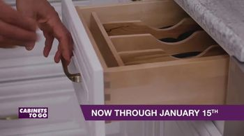Cabinets To Go TV Spot, 'New Year New Kitchen' - Thumbnail 3