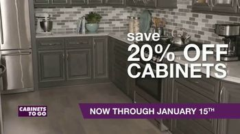 Cabinets To Go TV Spot, 'New Year New Kitchen' - Thumbnail 5