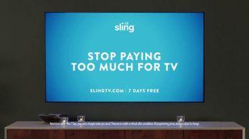Sling TV Spot, 'Mood' Featuring Nick Offerman, Megan Mullally - Thumbnail 10