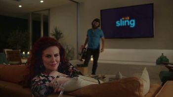 Sling TV Spot, 'Mood' Featuring Nick Offerman, Megan Mullally - Thumbnail 7