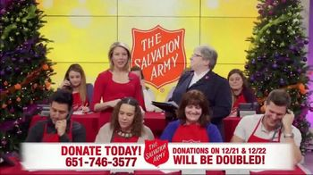 The Salvation Army TV Spot, 'Phone Bank: Double Match Days' - Thumbnail 1