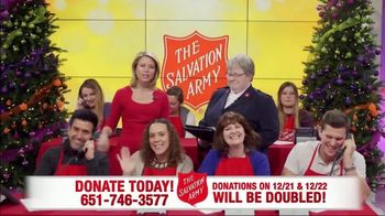 The Salvation Army TV Spot, 'Phone Bank: Double Match Days' - Thumbnail 10