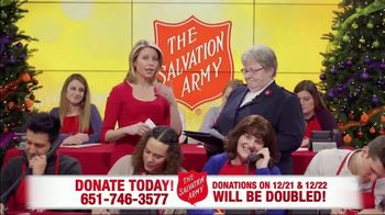 The Salvation Army TV Spot, 'Phone Bank: Double Match Days' - Thumbnail 5