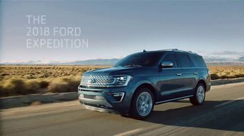 2018 Ford Expedition TV Spot, 'New Definition of Space' [T2] - 2 commercial airings