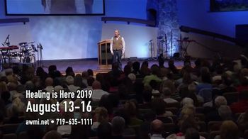 AWMI TV Spot, 'Woodland Park: 2019 Healing Is Here Conference' - Thumbnail 5