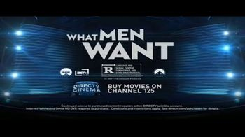 DIRECTV Cinema TV Spot, 'What Men Want' - Thumbnail 10
