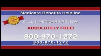 Medicare Benefits Helpline TV Spot, 'Free Medicare Review'