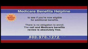 Medicare Benefits Helpline TV Spot, 'Free Medicare Review' - Thumbnail 5