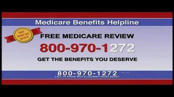 Medicare Benefits Helpline TV Spot, 'Free Medicare Review' - Thumbnail 7