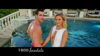 Sandals Grenada TV Spot, 'Swim in the Sky' - Thumbnail 4