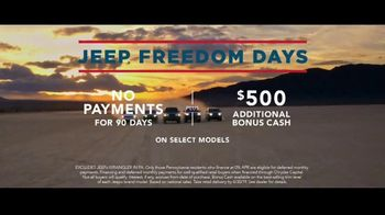Jeep Freedom Days TV Spot, 'Not an Amateur' Song by The Kills [T2] - Thumbnail 7