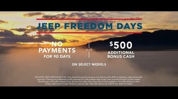 Jeep Freedom Days TV Spot, 'Not an Amateur' Song by The Kills [T2] - Thumbnail 8
