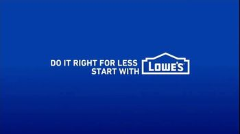 Lowe's TV Spot, 'Do Laundry Right: 30 Percent' - Thumbnail 10