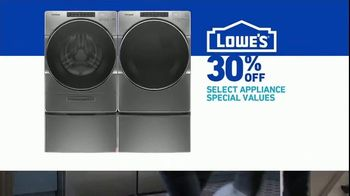 Lowe's TV Spot, 'Do Laundry Right: 30 Percent' - Thumbnail 8