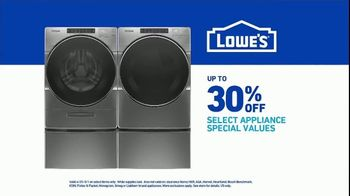 Lowe's TV Spot, 'Do Laundry Right: 30 Percent' - Thumbnail 9