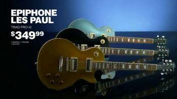 Guitar Center Guitarathon TV Spot, 'Les Paul and Epiphone' Song by Nina Strauss - Thumbnail 5
