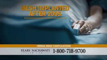 Fears Nachawati TV Spot, 'Hernia Surgery Patients'