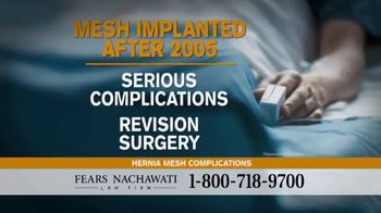 Fears Nachawati TV Spot, 'Hernia Surgery Patients' - Thumbnail 2