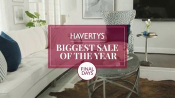 Havertys Biggest Sale of the Year TV Spot, 'Final Days: Everything' - Thumbnail 5